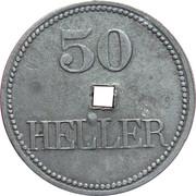 50 Heller (K&K POW Braunau) -  reverse