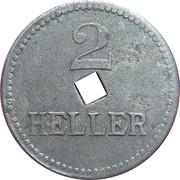 2 Heller (K&K POW Braunau) -  reverse