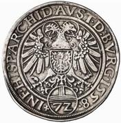 1 Reichsthaler 72 Kreuzer - Ferdinand I (Hall) -  reverse