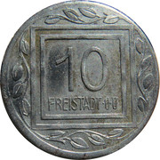 10 Heller (K&K POW Freistadt) – reverse