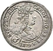 3 Kreuzer - Karl VI (St Veit) -  obverse