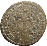 1 Kreuzer - Karl VI (Munich) -  reverse