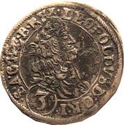 3 Kreuzer - Leopold I (St Veit) -  obverse