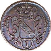 1 Pfennig - Franz I -  reverse