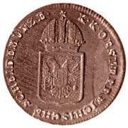¼ Kreuzer - Franz II -  obverse