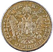 ½ Kreuzer - Franz Joseph I -  obverse