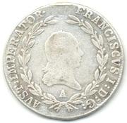 20 Kreuzer - Franz I -  obverse