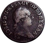 ¼ Kreutzer - Joseph II – obverse