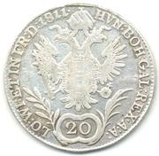20 Kreuzer - Franz I -  reverse