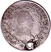 10 Kreutzer - Franz II -  obverse