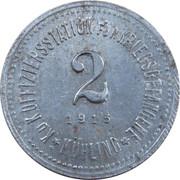 2 Heller (K&K POW Mühling) -  reverse