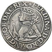 ½ Thaler - Ferdinand I (Vienna) -  obverse