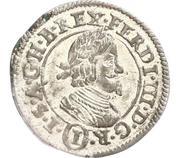 1 Kreuzer - Ferdinand III (Graz) -  obverse
