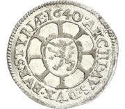 1 Kreuzer - Ferdinand III (Graz) -  reverse