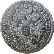 3 Kreuzer - Joseph II (Vienna) -  reverse
