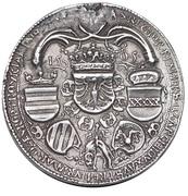 Double Schauguldiner - Maximilian I (Hall) -  reverse