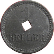 1 Heller (K&K POW Braunau) -  reverse