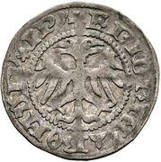 1 Kreuzer - Friedrich III - V (Wiener Neustadt) -  obverse