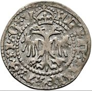 1 Kreuzer - Friedrich III - V (Graz) -  obverse