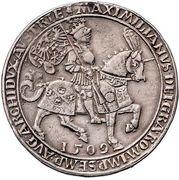 2 Guldiner - Maximilian I (Hall) – obverse