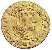 1 Ducat - Maximilian I (St Veit) – obverse