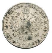 20 Kreuzer - Franz Joseph I -  reverse