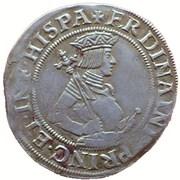 6 Kreuzer - Ferdinand I (Vienna) -  obverse