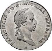 ½ Thaler - Franz II -  obverse