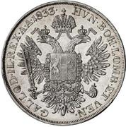 ½ Thaler - Franz II -  reverse