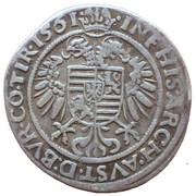 10 Kreuzer - Ferdinand I (Hall) -  reverse