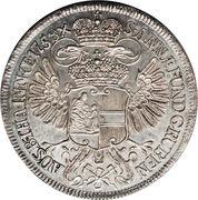 1 Thaler - Maria Theresia (Vienna - Mining Taler) -  reverse