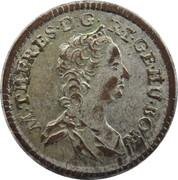 1 Kreuzer - Maria Theresia (Vienna) -  obverse