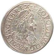 15 Kreuzer - Leopold I (Vienna) -  obverse