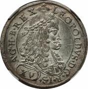 15 Kreuzer - Leopold I (Graz) -  obverse