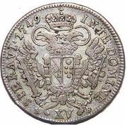 15 Kreuzer - Franz I -  reverse