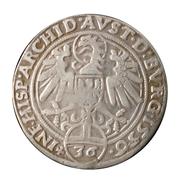 36 Kreuzer - ½ Reichsthaler - Ferdinand I (Hall) -  reverse