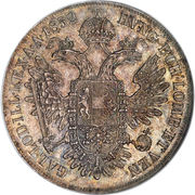 1 Thaler - Franz Joseph I -  reverse