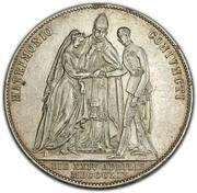 2 Gulden - Franz Joseph I (Wedding) -  reverse