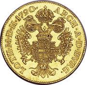 1 Ducat - Joseph II -  reverse