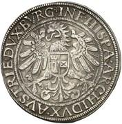 1 Thaler - Ferdinand I (Hall) -  reverse