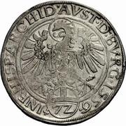 1 Reichsthaler - 72 kreuzer - Ferdinand I (Hall) -  reverse
