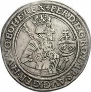 1 Guldenthaler - 60 kreuzer - Ferdinand I (Hall) -  obverse
