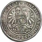 1 Guldenthaler - 60 kreuzer - Ferdinand I (Hall) -  reverse