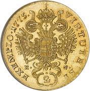 2 Ducat - Joseph II -  reverse
