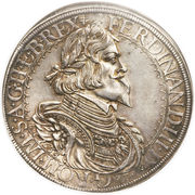 1 Thaler - Ferdinand III (St Veit) -  obverse