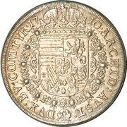 1 Thaler - Joseph I (Hall) -  reverse