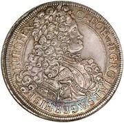 1 Thaler - Karl VI (Vienna) – obverse
