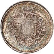 1 Thaler - Karl VI (Vienna) – reverse