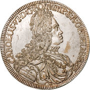 1 Thaler - Karl VI (Hall) – obverse