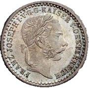 5 Kreuzer - Franz Joseph I -  obverse